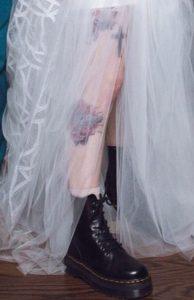 doc martens for unique wedding shoes