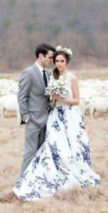 unique patterned dress